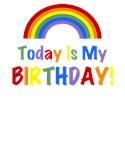 RAINBOW DESIGN - Today Is My BIRTHDAY!