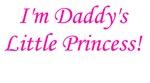 Daddy's Little Princess!