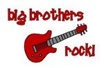 Big Brothers Rock! red guitar