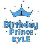 1st Birthday Prince - Kyle!