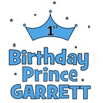 1st Birthday Prince Garrett!