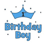 1st Birthday Boy (crown)