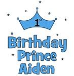 1st Birthday Prince Aiden!
