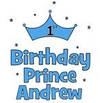 1st Birthday Prince Andrew!