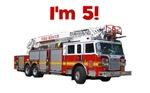 I'm 5! Firetruck