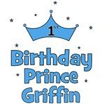 1st Birthday Prince GRIFFIN!