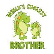 world's coolest brother dinosaur