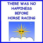 a funny horse racing joke on gifts and t-shirts.