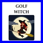 a funny golf joke on gifts and t-shirt.