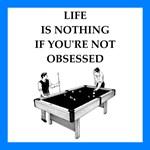 billiards joke gifts and t-shirts.