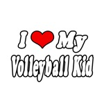 I Love My Volleyball Kid