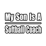 My Son..Softball Coach