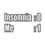 I'm Beating My Insomnia