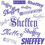 Sheffey Fonts Purple - 9570