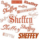Sienna Brown Sheffey Fonts - 9565