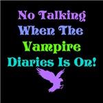 No Talking Vampire Diaries, blues