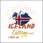 Iceland is Calling Darker Clothing