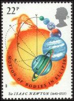 Sir Isaac Newton UK Stamp