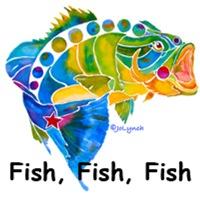 Fish in Vivid Colors