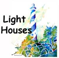 Lighthouses Hatteras &Newport R.I.
