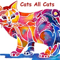 ORIGINAL CAT ART / CAT GIFTS
