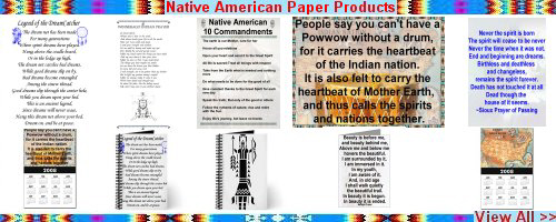 Native American Paper Products
