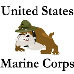 United States Marine Corps Devil Dog design