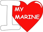 I Love My Marine Design