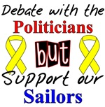 Debate Politicians Support our Sailors