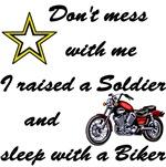 Raised a Soldier Sleep with Biker