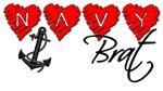 Navy Brat hearts