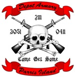 Parris Island Armory Customized Design