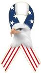 Patriotic Ribbon w/Eagle #2