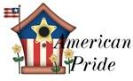 American Pride - Birdhouse