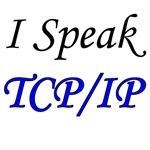 I Speak TCP/IP (blue & black)