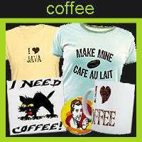 coffee t-shirts / gifts