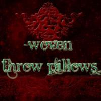 --Woven Throw Pillows--