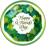 St Patrick's Day Shield