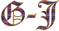 Clan Crest G-J