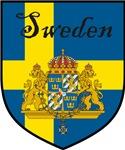 Sweden Flag / Swedish Crest / Shield