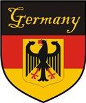 Germany Flag Crest Shield