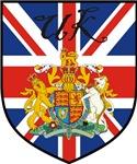 UK / United Kingdom Flag Crest Shield
