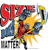 Size Matters Hockey T Shirts