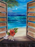 Tropical Holiday greeting cards and more