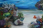 Tropical  Sea with clownfish
