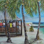 BCs  Beach Bar Holiday Tile gifts and bags