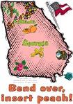 GA - Bend over, insert peach! (2003 flag)