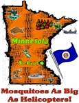 MN - Mosquitoes As Big As Helicopters!