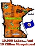 MN - 10,000 Lakes... And 10 Zillion Mosquitoes!