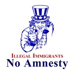 No Amnesty Blue Uncle